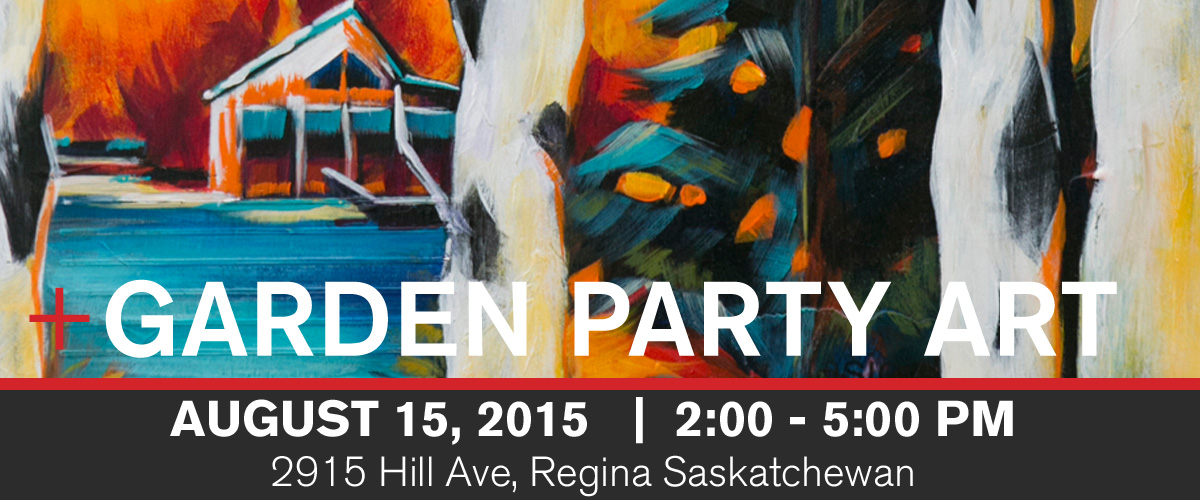 An art show involving Canadian artist, Theresa Eisenbarth in Regina, Saskatchewan