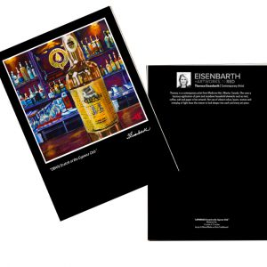 Notecards of Oban Scotch painting, by Medicine Hat artist, Theresa Eisenbarth
