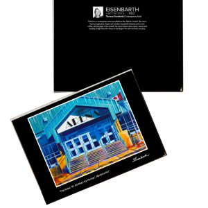 Notecards of Medicine Hat Arena painting, by Medicine Hat artist, Theresa Eisenbarth