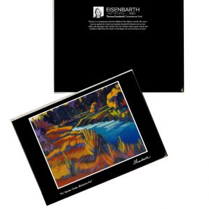 Notecards of Kin Coulee Park painting, by Medicine Hat artist, Theresa Eisenbarth