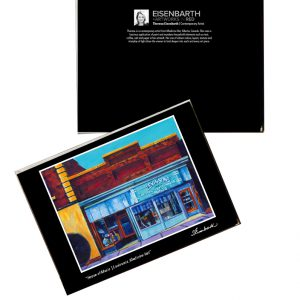 Notecards of Levinsons Music painting, by Medicine Hat artist, Theresa Eisenbarth