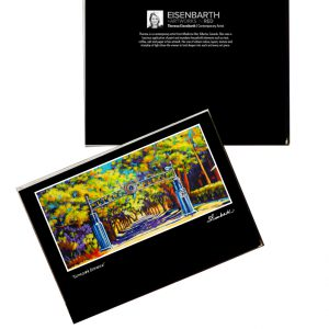 Notecards of Lions Park painting, by Medicine Hat artist, Theresa Eisenbarth