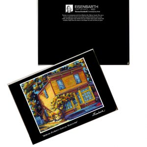 Notecards of McKenzie Sharland Home painting, by Medicine Hat artist, Theresa Eisenbarth
