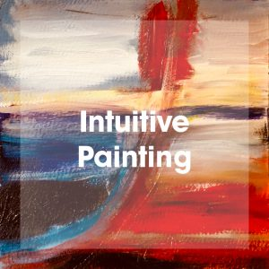 Intuitive Painting Class by artist Theresa Eisenbarth, April 2019