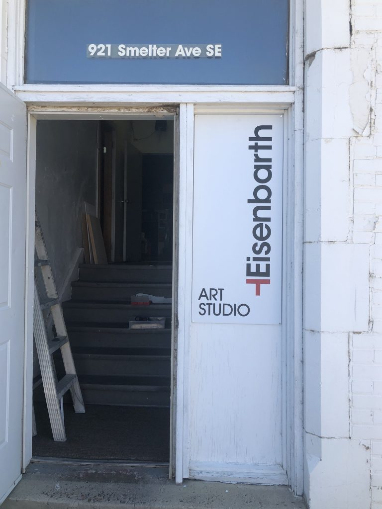 Eisenbarth Art Studio Entrance