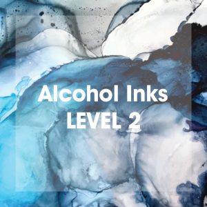 Alcohol Inks Level II Workshop by artist Theresa Eisenbarth