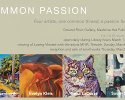 Common Passion, Medicine Hat Public Library Group Show